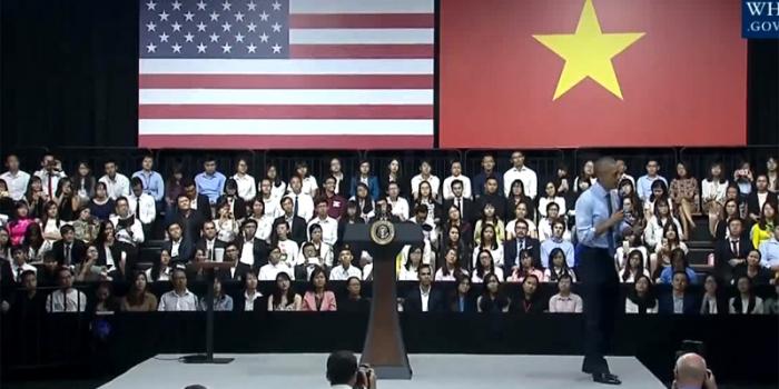 Hướng đến thành công – Bài nói chuyện của Tổng thống Mỹ Obama với sinh viên Việt Nam tại TP.HCM