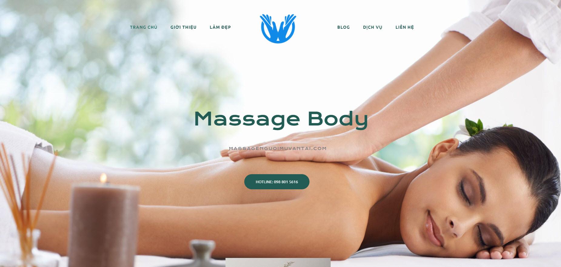 Massage người mù Văn Tài